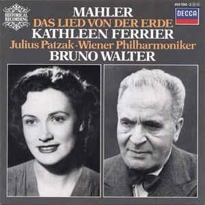 [수입] Kathleen Ferrier / Julius Patzak / Bruno Walter - Das Lied Von Der Erde