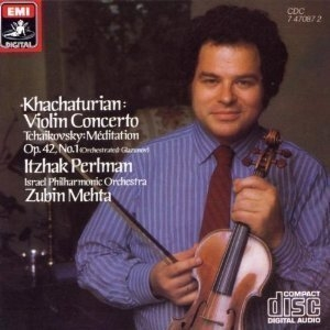 Itzhak Perlman, Zubin Mehta / Khachaturian: Violin Concerto~(수입/CDC747087)