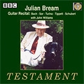 [중고] Julian Bream / Guitar Recital : bach, sor, turina (수입/sbt1333)