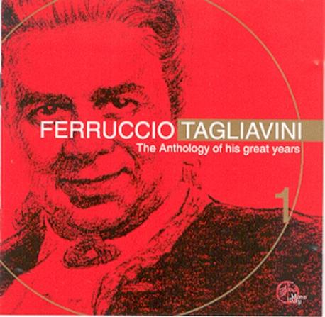 [미개봉] Ferruccio Tagliavini / 탈리아비니의 아리아 모음집 (GI2052)