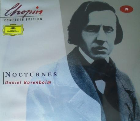 [수입] 쇼팽 : 녹턴 (CHOPIN : NOCTURNES - Daniel Barenboim) - 2CD