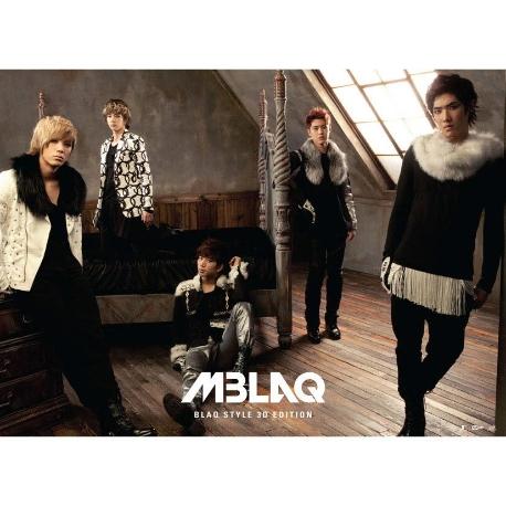 엠블랙 (M-Blaq) - Blaq Style 3D Edition (홍보용 음반)
