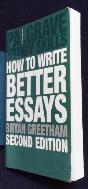 How to Write Better Essays [상현서림]  /사진의 제품  ☞ 서고위치:MR 6  * [구매하시면 품절로 표기됩니다]
