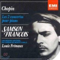 Samson Francois, Louis Fremaux / 쇼팽 : 피아노 협주곡 1, 2번 (수입/CDC7475572)