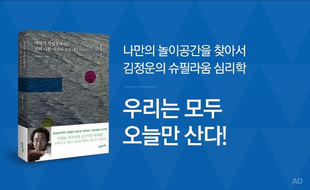 바닷가 작업실에서는 전혀 다른 시간이 흐른다, 김정운