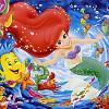 큰조각 직소퍼즐 디즈니 - 인어공주와 친구들 (CM26881)