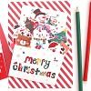 크리스마스 팝업카드 - 화이트 눈사람