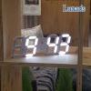 루나리스 3D LED 무소음 벽시계 MINI