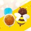꿀벌 베비쿵 머리쿵방지쿠션