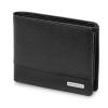 T 클래식매치 가죽 컬렉션-가로형 동전지갑/플랩 블랙