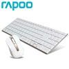 RAPOO 무선 키보드 + 무선 마우스 콤보 RAPOO-9160 (5.6mm 울트라 슬림 / 12개 기능키 / 1000DPI / 미디어 제어)