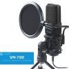 지곤 스탠드 지향성 방송용 피시 마이크 VM-700
