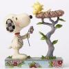 꽃을 주는 스누피와 둥지 속 우드스탁 (4054079)