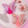금자수 나비 배씨 한복 악세사리