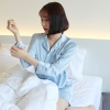 버드 잠옷 원피스 파자마세트 (2color 원피스+안대)