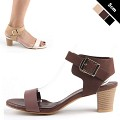 [하이퀄리티/가죽]  Tory Basic Leather Sandal [KESM7516]