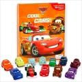 Disney Pixar Cars2 Cool Cars : My Busy Books 카 피규어북