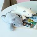 작소 말랑곰 인형(25cm) 아이보리+그레이 2개 set