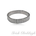 [IRISH CLADDAGH] BANGLES EXPANSION Steel FNW0227