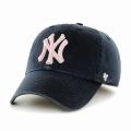47브랜드 MLB모자 뉴욕 양키즈 네이비핑크(한정모델)