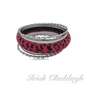 [IRISH CLADDAGH] BANGLES WOVEN FNW0734