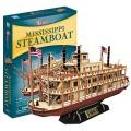 [3D퍼즐마을][T4026h] 미시시피 증기선 (Mississippi Steamboat)