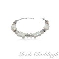 [IRISH CLADDAGH] BRACELETS Murano Glass FNW0652
