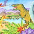 어린어퍼즐 이부 공룡시대 100피스