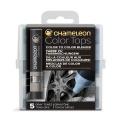 카멜레온 믹싱 칼라탑 5색 세트 (그레이톤 탑)