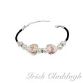 [IRISH CLADDAGH] BRACELETS Murano Glass FNW0667