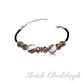 [IRISH CLADDAGH] BRACELETS Murano Glass FNW0678