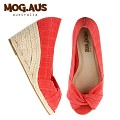[MOG.AUS] Basic Canvas Wedge MG13SFWG5514_RED