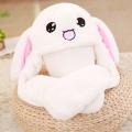 귀가 움직이는 토끼모자
