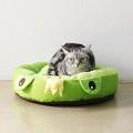후펫 고양이 강아지 프로그쿠션