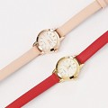 Round Leather Watch(2colors)