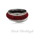 [IRISH CLADDAGH] BANGLES WOVEN FNW0738