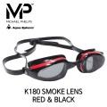 MP 마이클펠프스 K-180 스모크랜즈 RED & BLACK