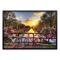 500조각 직소퍼즐▶ 암스테르담의 아름다운 일출 (PK500-3501)