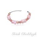 [IRISH CLADDAGH] BRACELETS Murano Glass FNW0655
