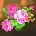[DIY명화]A53 장미꽃잎 size 40*40cm