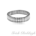 [IRISH CLADDAGH] BANGLES EXPANSION Steel FNW0224