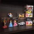 장난감PET사각케이스 토미카 피규어 케이스 PET사각상자 장난감케이스 41x41x81cm