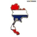 태국 지도 뺏지