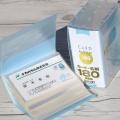 명함,카드,영수증 등을 하나에...나카바야시 180장 수용 명함첩 HF281