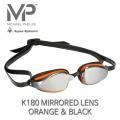 MP 마이클펠프스 K-180 미러랜즈 ORANGE & BLACK