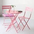 마켓비 VALLEN 접이식 빈티지테이블/의자 2인세트
