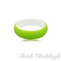 [IRISH CLADDAGH] BANGLES RESIN RIGID FNW0097