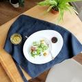 라피 타원형 접시