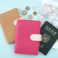 [포장지훼손 특가] 클래식 레더 여권케이스