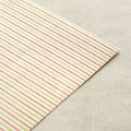 Fabric Sticker - Strawberry : berry stripe
